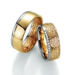 Обручальные кольца спб 585